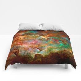 Carina Nebula Comforters