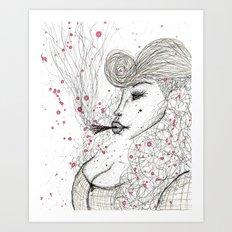 Big Mama Pink Art Print