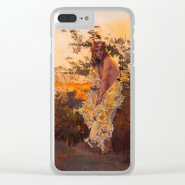 Shedding Selkie Clear iPhone Case