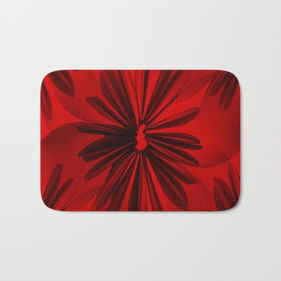 Christmas Red Bath Mat