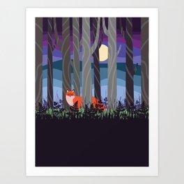 Magical Woodland (St. Norbert) Art Print