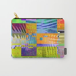 waves & rectangles Carry-All Pouch