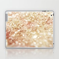 Pink and Gold Glitter  Laptop & iPad Skin