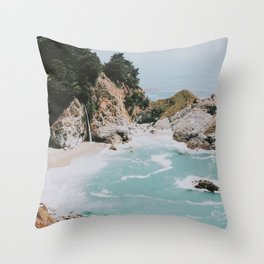 big sur / california Throw Pillow