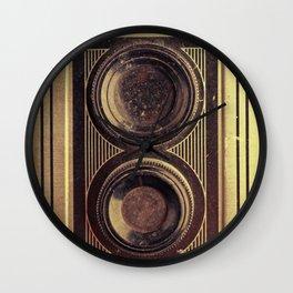 Vintage Twin Lens Wall Clock