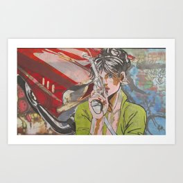 Modesty with Chev Art Print