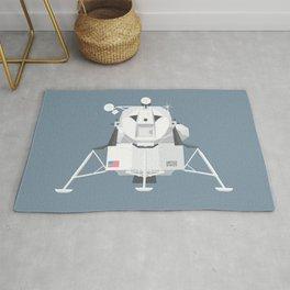 Apollo Lunar Lander Module - Slate Rug
