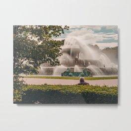 Fountain View 2 Metal Print