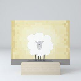 Sheepish Mini Art Print