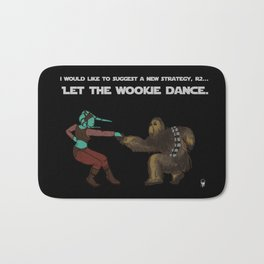 Let the Wookie Dance Bath Mat