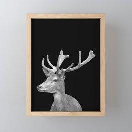 Deer Black Framed Mini Art Print