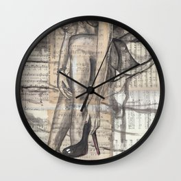Song of Love Wall Clock