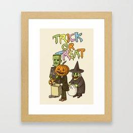 Happy Halloween! Framed Art Print