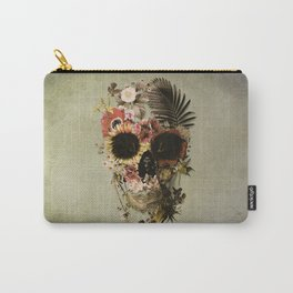 Garden Skull Light Carry-All Pouch