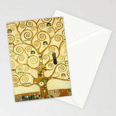 Gustav Klimt The Tree Of Life Stationery Cards