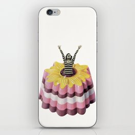 Blancmange Surprise iPhone Skin