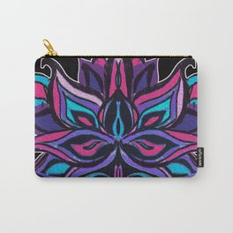 Warped Lotus Carry-All Pouch
