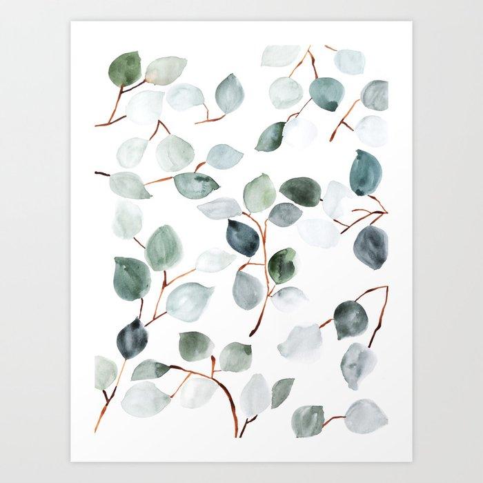 Eucalyptus Kunstdrucke