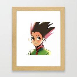 Gon Framed Art Print