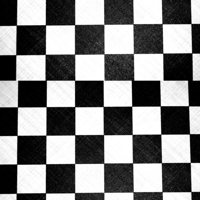 Dirty checkers Duvet Cover