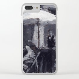 A Shady Deal Clear iPhone Case