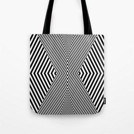 stripes. too striking Tote Bag