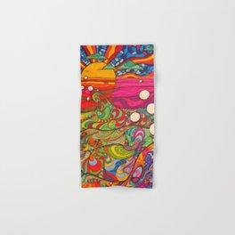 Psychedelic Art Hand & Bath Towel