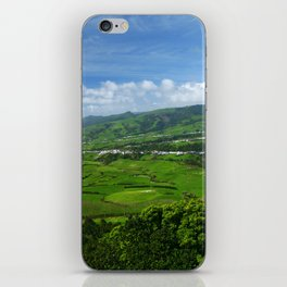 Azores islands landscape iPhone Skin