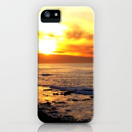 La Jolla Sunset iPhone Case