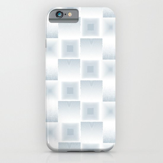 Pale blue gray textured tile square simple checkerboard for Minimalist home goods