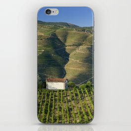A chapel among vineyards iPhone Skin
