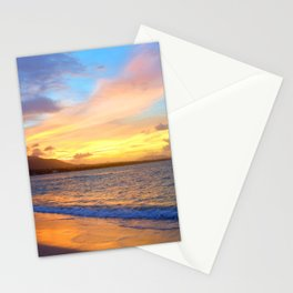 Photo 110 Beach Sunset Stationery Cards