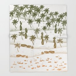 Ecocide Throw Blanket