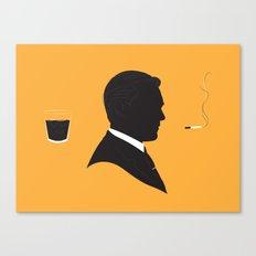 MAD MEN / DON DRAPER Canvas Print