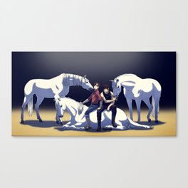 Hold your horses Canvas Print