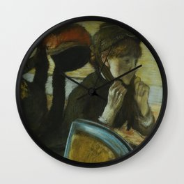 At the Milliner's Wall Clock