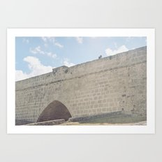 Open Air Museum // Famagusta Old City Art Print