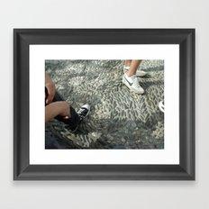 Sneakerville Framed Art Print