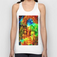 meditation Tank Tops featuring  Meditation by shiva camille