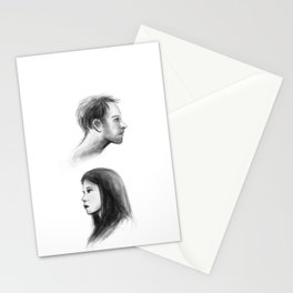 elementary: better half Stationery Cards