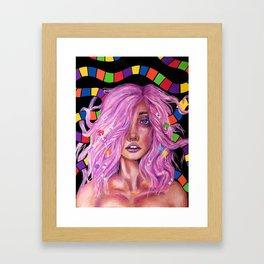 Princess Lollipop Framed Art Print