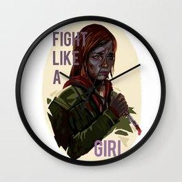 Ellie the last of us Wall Clock