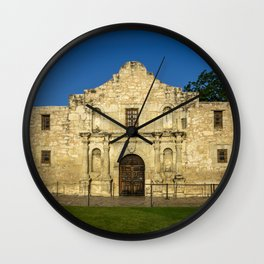Empty Alamo Wall Clock