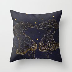 Gemini Zodiac  Throw Pillow