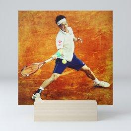 Kei Nishikori Tennis Mini Art Print