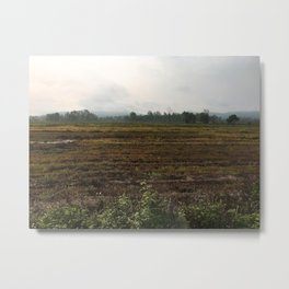 The countryside landscape in Thailand Metal Print
