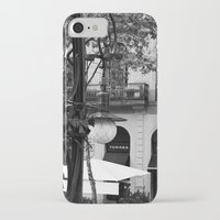 barcelona iPhone & iPod Cases featuring Barcelona by Francesca Vincis