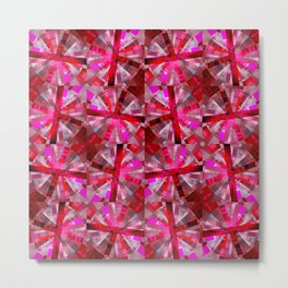 Ultimate Pink Pattern Metal Print