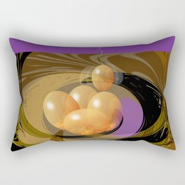 Putting All Your Eggs In One Basket Rectangular Pillow
