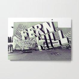 Greetings from Fern Hill Metal Print